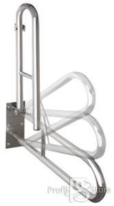 Mozgáskorlátozott Kapaszkodó Disable 301102071 Felnyitható Inox 60cm