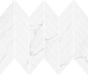 CersanitMARINEL WHITE CHEVRON MOSAIC GLOSSY 29,8X25,5