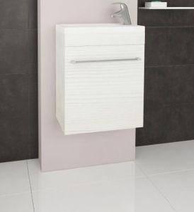 Lobo Komo 42 alsószekrény mosdóval, bianco