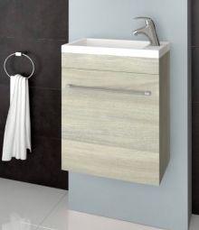 Lobo Komo 42 alsószekrény mosdóval, rovere grigio