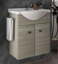Lobo Vita 55 alsószekrény mosdóval