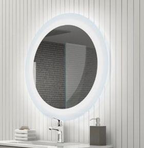 Lobo LED- es tükör 75 kerek