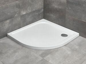 Radaway Delos A íves zuhanytálca 80x80
