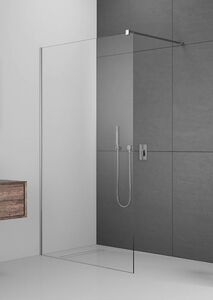 Radaway Modo New II 100 Walk-in zuhanyfal átlátszó üveggel