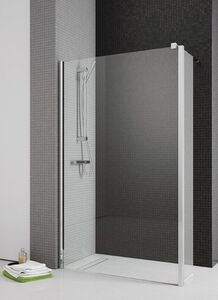 Radaway Eos II Walk-in 80 J zuhanyfal átlátszó üveggel