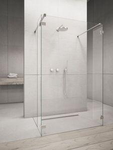 Radaway Euphoria Walk-in W4 140 I zuhanyfal átlátszó üveggel