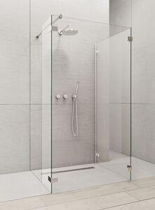 Radaway Euphoria Walk-in W4 130 IV zuhanyfal átlátszó üveggel