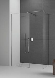 Radaway Modo New II 140 III Walk-in zuhanyfal átlátszó üveggel