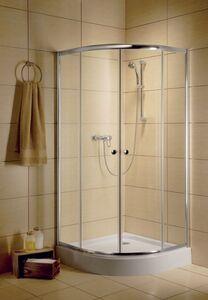 Radaway Classic A 90 íves zuhanykabin átlátszó üveges