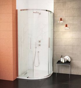 Wasserburg TITAN Negyedköríves zuhanykabin 90 cm