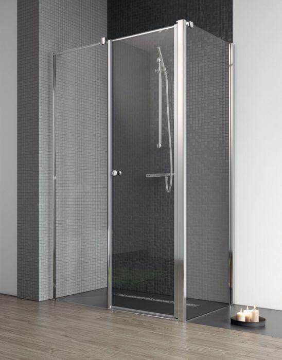 Radaway Eos II KDS S1 75 Jobb szögletes zuhanykabin oldalfal átlátszó üveges