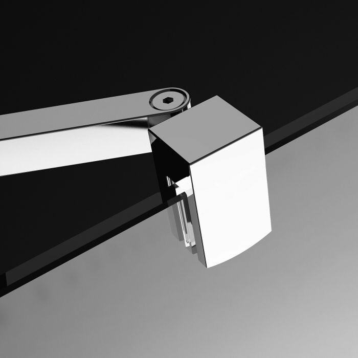 Radaway Eos II DWD+S DWD 120 szögletes zuhanykabin nyílóajtó átlátszó üveges