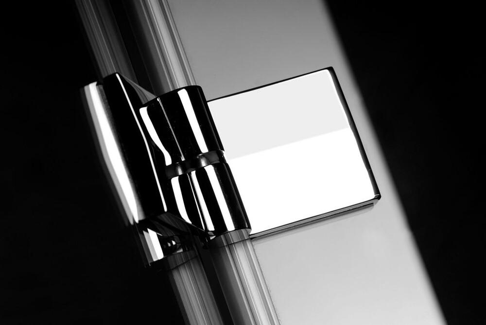 Radaway Almatea KDJ 100J*×90 szögletes zuhanykabin átlátszó üveges