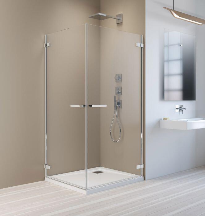 Radaway Arta KDD I 100 Jobb szögletes zuhanykabin átlátszó üveges