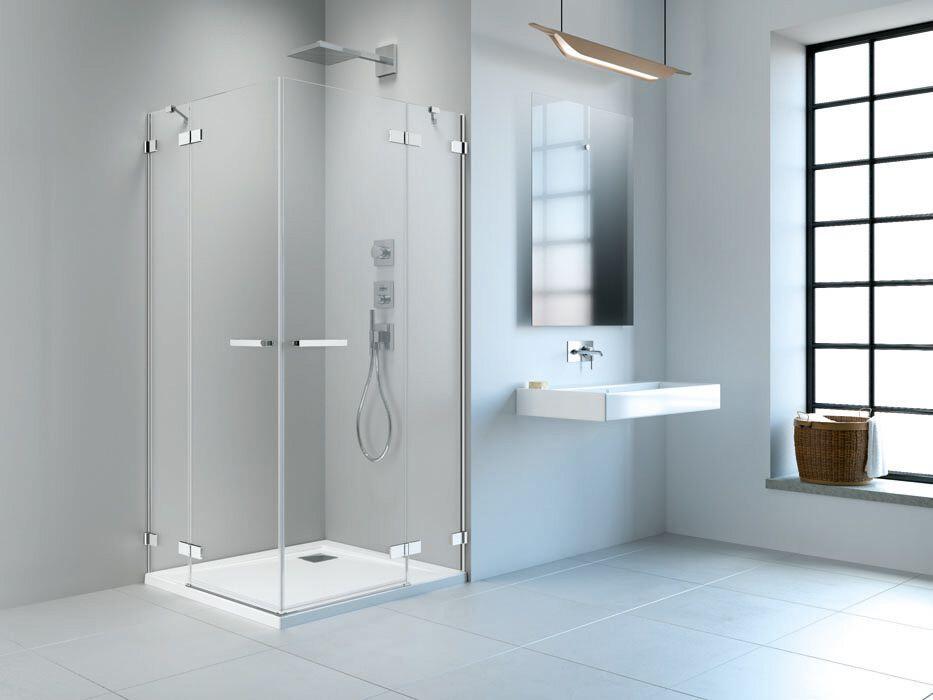 Radaway Arta KDD II 90 Jobb szögletes zuhanykabin átlátszó üveges
