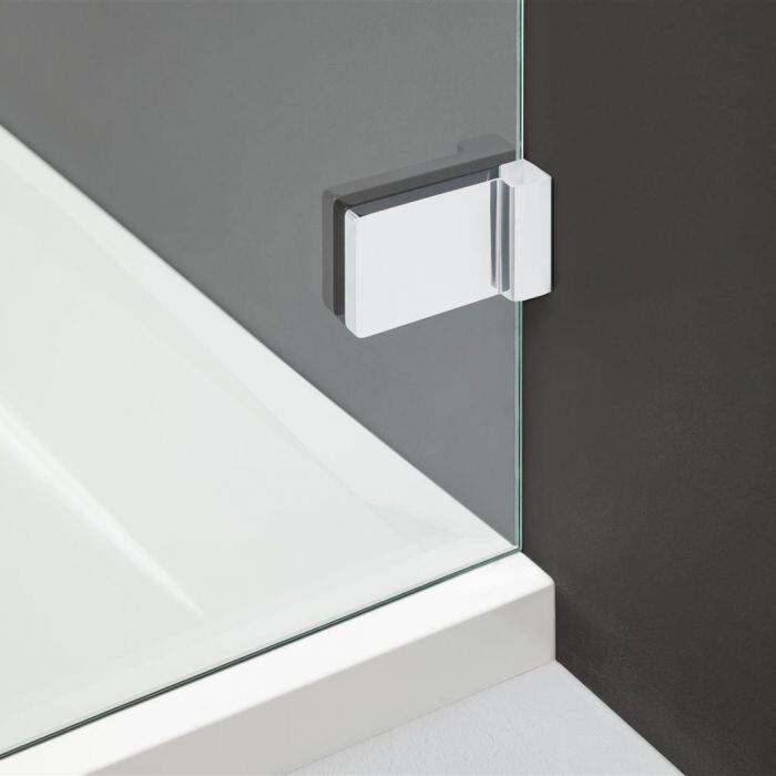 Radaway Arta KDJ II S1 90 szögletes zuhanykabin oldalfal átlátszó üveges