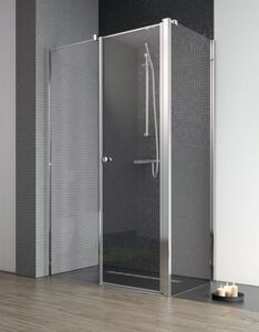 Radaway Eos II KDS S1 75 B szögletes aszimmetrikus zuhanykabin oldalfal, átlátszó üveges