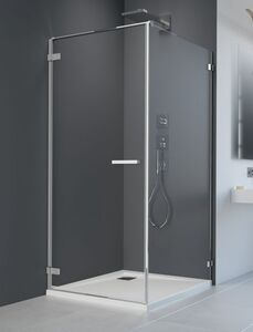 Radaway Arta KDJ I S1 70 szögletes aszimmetrikus zuhanykabin oldalfal, átlátszó üveges