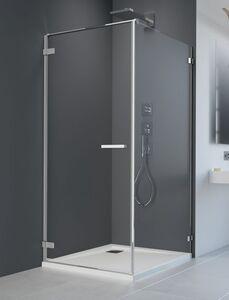 Radaway Arta KDJ I S1 120 szögletes aszimmetrikus zuhanykabin oldalfal, átlátszó üveges