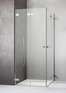 Radaway Arta KDD-B 80 Bal szögletes aszimmetrikus zuhanykabin átlátszó üveges