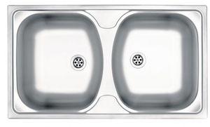 Deante Techno 2 medencés mosogató csepegtető nélkül ZMU 0200