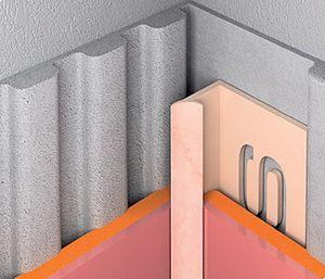 Pvc negatív élvédő profilok 7,5mmx250cm, 6-7mmvastag lapokhoz.