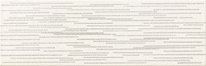Arte Burano Bar White D dekorcsempe 23,7x7,8