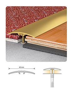 Burkolatváltó profil S11 40mm / 0,91méter lefúrható