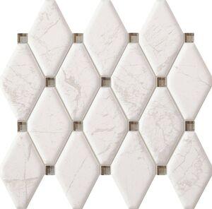 Arte Graniti White mozaik dekorcsempe 29,8x27