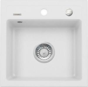 Deante Zorba 1 medencés mosogató csepegtető nélkül-ALABÁSTROM ZQZ A103