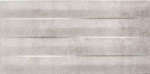 ARTE S-Minimal szara strukturalna falicsempe 44,8x22,3 cm