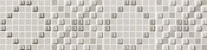 ARTE L-Minimal szara/grey 44,8x11,1 cm dekorcsík