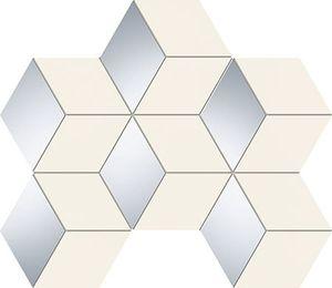 Arte Senza white hex 29,8x22,1 dekor