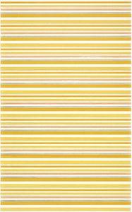 Cersanit Diantus  Yellow Inserto Stripe  Dekorcsempe  25x40