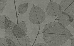 Cersanit Lussi  Grey Inserto Leaf A  Csempe 25X40