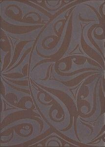 Cersanit  Optica  Brown Inserto Kola  Dekorcsempe  25x35
