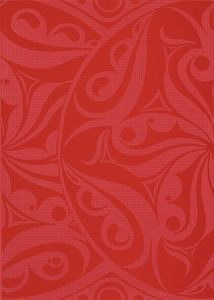 Cersanit  Optica  Red Inserto Kola  Dekorcsempe  25x35