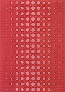 Cersanit  Optica  Red Inserto Modern  Dekorcsempe  25x35