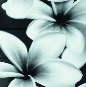 Cersanit Pret-À-Porter Flower Grey Composition dekorcsempe 75x75