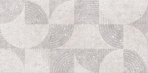 Cersanit Geofun Grys Inserto Matt dekorcsempe 29,7X60